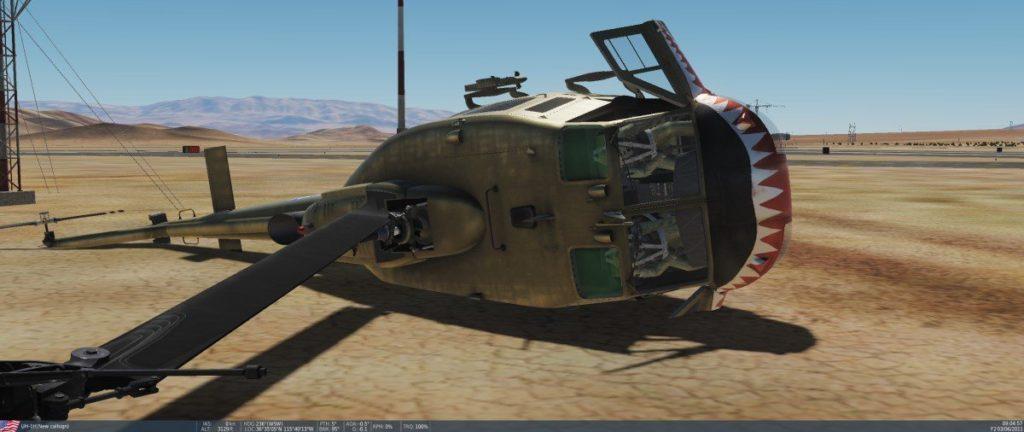 Huey Crash